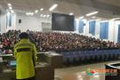 兰州理工大学警校联动,交通安全宣讲进校园