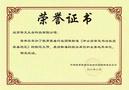 中小學智慧書法教室團體標準提出者華文眾合獲榮譽證書