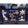 社区科普室 少年宫科技馆 设备中型校园仪器 落地式科普展品 机械联动墙