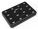 西普莱工业级A-1OO HUB集线器 16口USB2.0分线器U盘TF卡批量测试拷贝