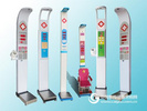 带电子血压计的身高体重测量仪