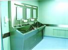 不锈钢医用感应洗手池