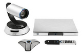 圓展視頻會議系統高清會議終端AVer SVC100 1080P 60 fps 支持標準H.323 SIP 協議