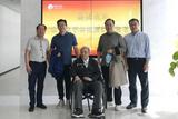 北京大學林建祥教授一行蒞臨中慶訪問