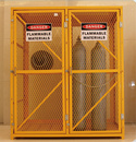 气罐网状储存柜