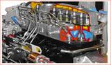 475柴油发动机解剖实训台