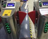 三輥閘翼閘 ESD防靜電門禁閘機 靜電檢測出入口門禁閘機系統