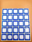 反光型变色测温贴片/测温贴/温度纸/BCW1-50度/单格示温纸25片