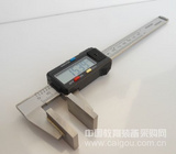 电子数显游标大宽量面鸭嘴宽口钳卡尺钢丝绳股径检测量具
