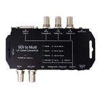 SDI to Multi高清转换器SDI转HDMI DVI CVBS 分量 AV