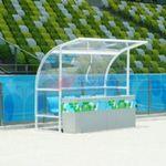 足球防护棚
