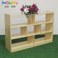 幼儿园玩具柜收纳架儿童实木教具柜