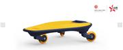 IDbabi鱼游板初学者三轮滑板儿童青少年平衡健身户外休闲感统教具