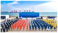 经纬恒润无人集卡车队实现无安全员生产运营 暨全球首个顺岸开放式全自动化集装箱码头在日照港正式启用