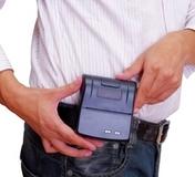 济强便携式票据打印机ULTI1131(手掌大小,可挂腰间)