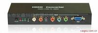 色差(YUV)+VGA转hdmi转换器,色差转换器,hdmi接口转换器