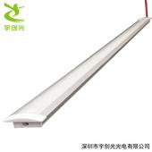 LED超薄層板櫥柜燈2公分嵌入式帶邊開槽2835燈帶