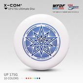 通过WFDF认证 X-COM 175g极限飞盘专业比赛户外运动飞盘 炫星