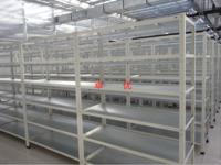 卓优+反光板组培培养架+光照柔和、均匀、无死角,组培苗长势整齐健壮
