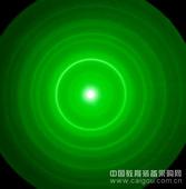 電子衍射環(多晶體 金(Au))