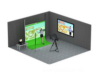 洋铭VGB-1000电子绿板系统 教学视频录制 网络直播虚拟演播室