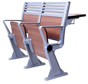 连排课桌椅阶梯座椅排椅学生课桌椅大学礼堂排椅阶梯排椅会议椅 DC-804S