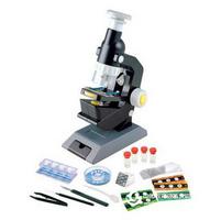 儿童益智科学探索实验玩具100x·200x·300x 中高级显微镜套装