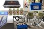 新型混凝试验搅拌机-双电源便携式搅拌器