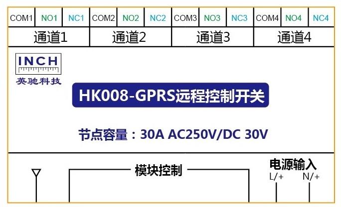 電子輻射紅外加熱器GPRS遠程控制開關-HK008