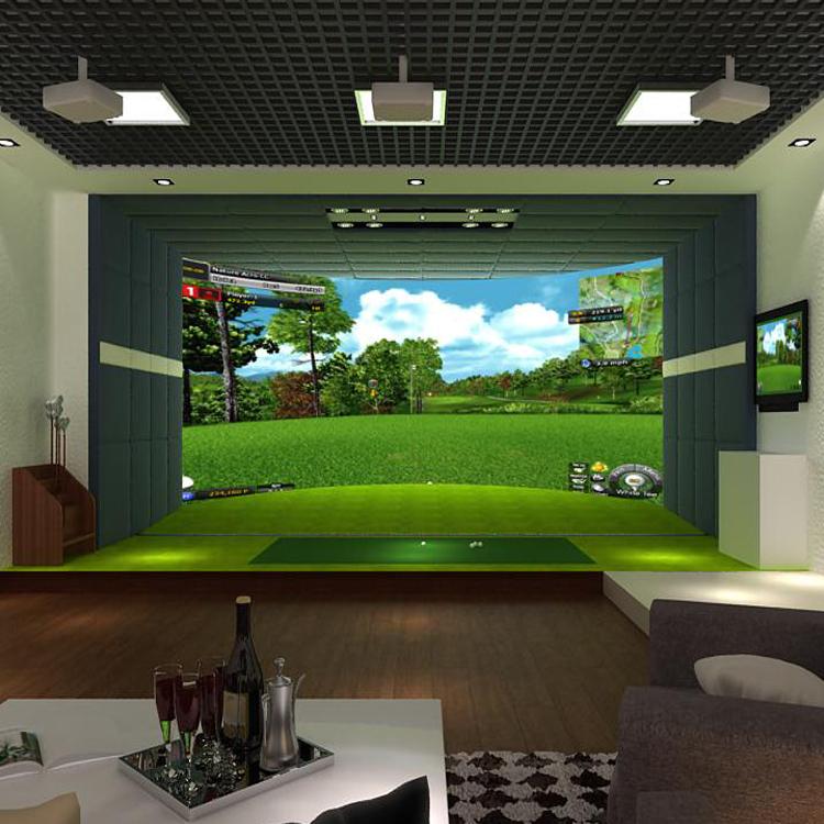 供應模擬高爾夫設備_高爾夫模擬器_室內迷你高爾夫