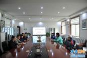 郑州市扶轮外国语学校迎接乒?#20202;?#29305;色发展专家组考察指导