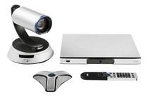 圆展视频会议系统高清会议终端AVer SVC100 1080P 60 fps 支持标准H.323 SIP 协议