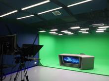 校園電視臺與演播室雙景區的構成