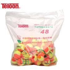天龙【Teloon】天龙儿童短式网球训练减压网球mid mini 袋装 mini(橙黄色)整袋48个