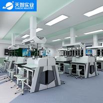 天智實驗臺廠家直銷中學生理化生實驗室生物實驗桌椅理化生考評系統實驗室