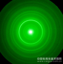 电子衍射环(多晶体 金(Au))