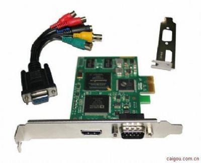 DVI RGB hdmi高清采集卡 H.264直播卡