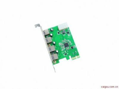 乐扩 IO-PCEEJ188-4U PCI-E转USB3.0扩展卡 支持苹果系统