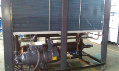 出口风冷螺杆式热泵机组
