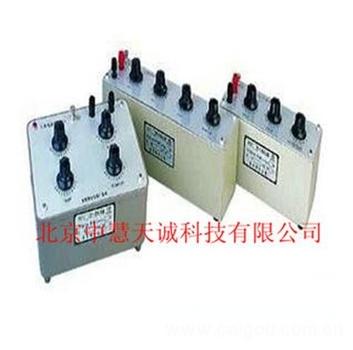 十进电容箱 型号:DZRX7-2
