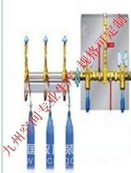 半自动氧气/氮气/氢气/氩气/氦气汇流排(可按照客户要求定制)