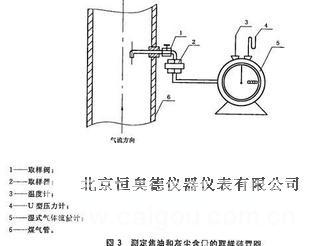 人工煤气中焦油和灰尘含量的测试装置/焦油和灰尘含量取样器  型号:HAD-QY