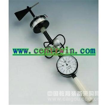 轻便三杯风向风速表/便携式三杯风速风向表 特价 型号:TX-YDEM6