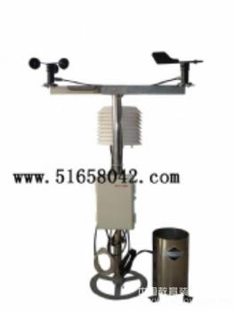 小型气象站/自动气象站/移动式自动气象站/气象环境监测站/自动气象站 型号:QS-JL-03(空气温度、湿度、风速、风向、土壤温度、湿度)