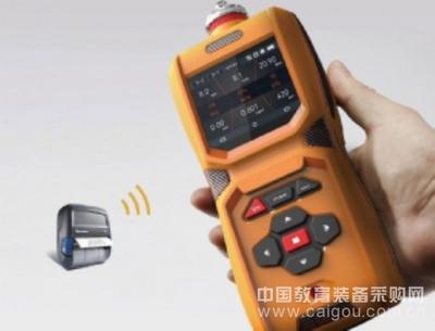 六合一气体报警器/便携泵吸式甲烷检测仪高清彩屏实时显示