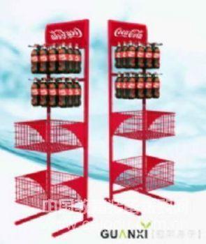 可乐饮料展示架
