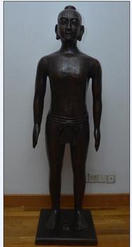 170cm仿明代针灸铜人模型,全铜制造仿古针灸铜人模型