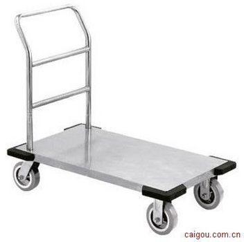 不锈钢推车,防静电不锈钢推车,不锈钢单层平板车