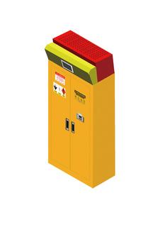 带过滤净气型危化品柜
