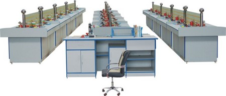 财会模拟实验室、工程制图实验室、钳工实验室设备、模拟银行实验室设备、电算化实验室设备